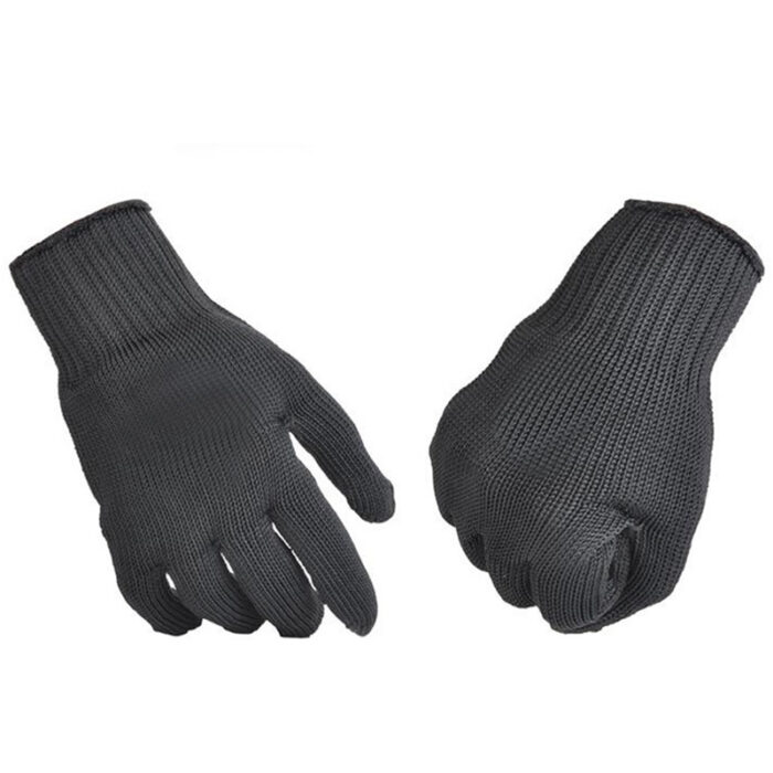 Black Cut Resistant Gloves Level 5