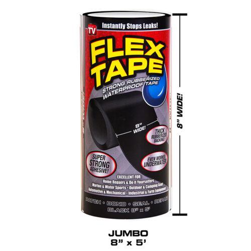 Flex Tape Black Jumbo