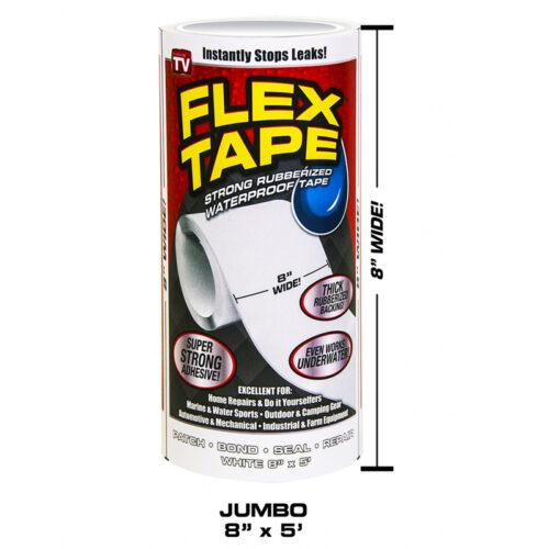 Flex Tape White Jumbo