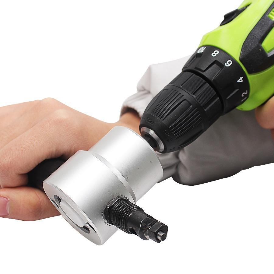 Ultimate Handheld Nibbler Cutter Drill Attachment